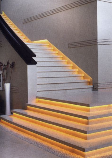 Led Light Strips For Stairs 1000 Ideas About Stair Lighting On Led Stair