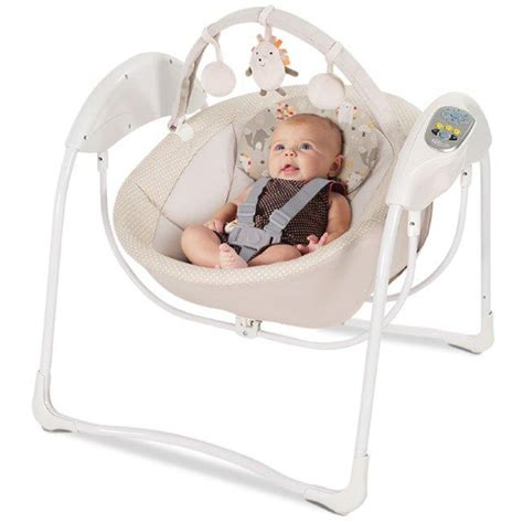 baby swing or glider graco glider swing baby bouncer with toybar infant