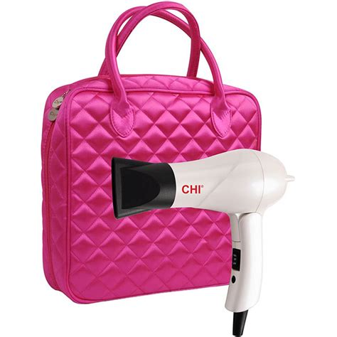 Hair Dryer Luggage Airways chi professional travel hair dryer with bag hair dryers health shop the exchange