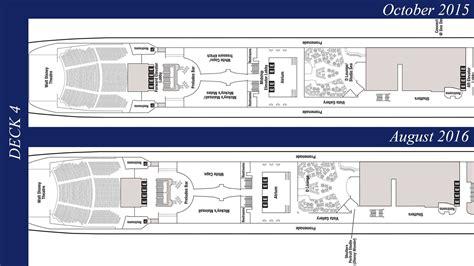 disney cruise floor plans revised deck plans reveal additional disney wonder