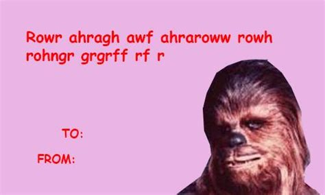 Star Wars Valentine Meme - star wars the force awakens valentines cards