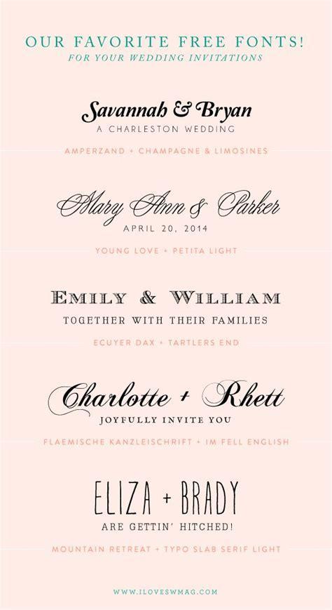 25  best ideas about Invitation Fonts on Pinterest