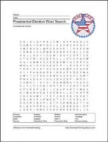 part of us election map crossword presidential election printables wordsearch crossword