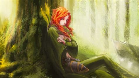 dota 2 windrunner wallpaper hd lyralei the windrunner hq dota 2 wallpapers