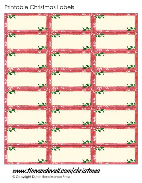 printable christmas labels free christmas label templates