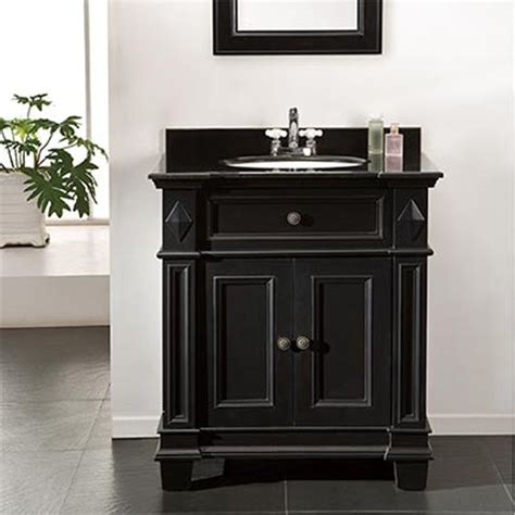 Wood Vanity by Eliza Single Sink Wood Vanity By Ove Decors