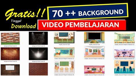 background video pembelajaran zoom meeting
