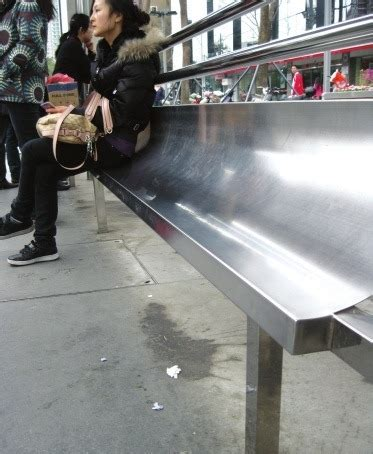 homeless bench the anti homeless bus stop benches chinahush