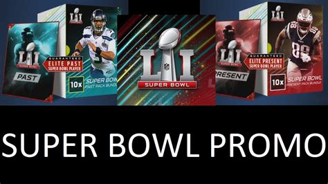 Denied For Superbowl Promo by Bowl Promo Breakdown And Bundle Opening Mut