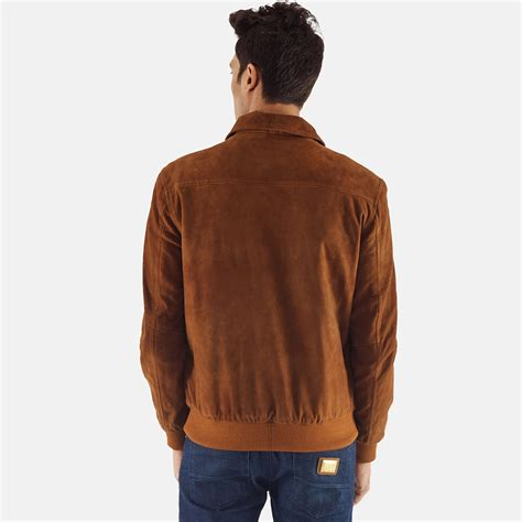 mens tomchi suede leather jacket