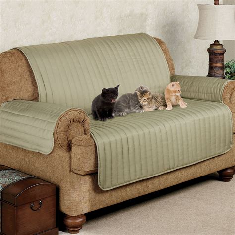 twill loveseat pet furniture cover touch of class