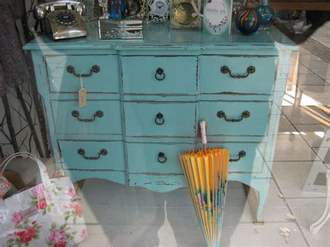 painted wooden chest furniture shabby chic furniture flickr