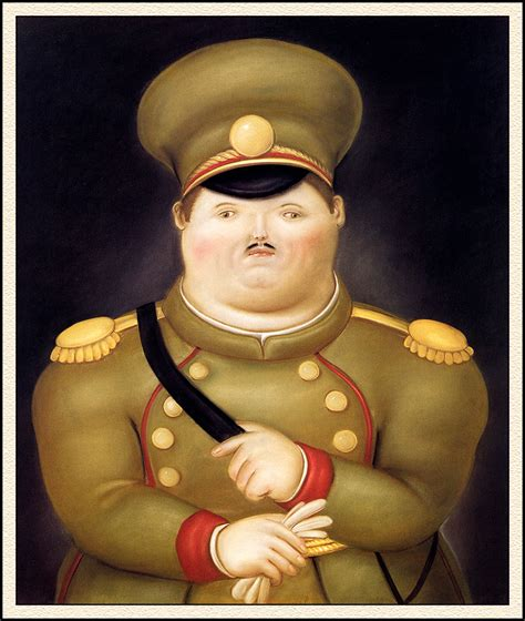 what of is captain the captain fernando botero wikiart org