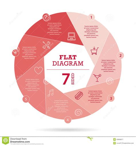 graphic diagram colorful puzzle presentation infographic diagram chart