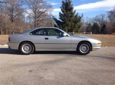 buy car manuals 1992 bmw 8 series lane departure warning sell used 1992 bmw 850ci 6 speed manual v12 clear title clear carfax 65k miles in