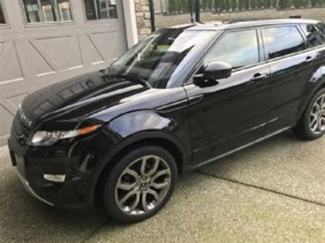 land rover evoque 2015 black 2015 land rover range rover evoque dynamic package black