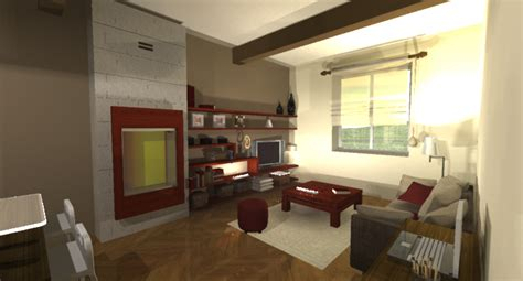 Pinterest Home Decoration 123 Avant Projet Appartement Lyon 9 232 Me Vue 3d Salon