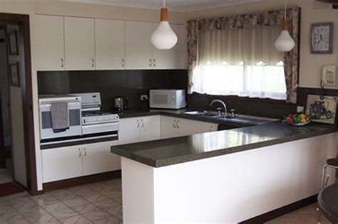 kitchen makeovers canberra granite transformations kitchen remodelling before