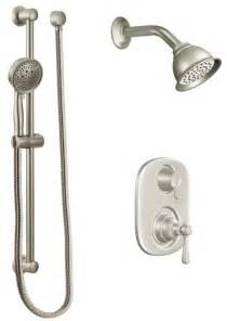 Moen Kingsley Tub Faucet Faucet Com 602sepbn In Brushed Nickel By Moen