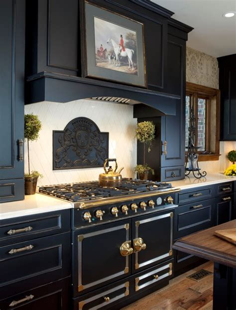 black kitchen cabinets by wood mode simplified bee