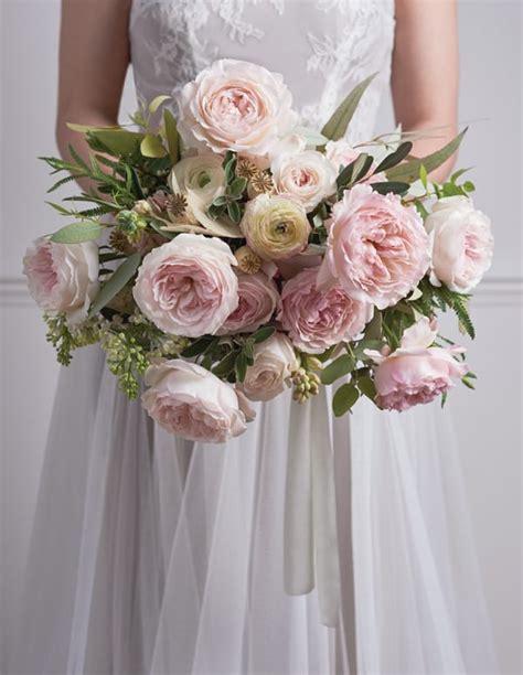 breath  bridal bouquets featuring david austin roses