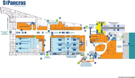 st pancras floor plan zero project association of train operating companies