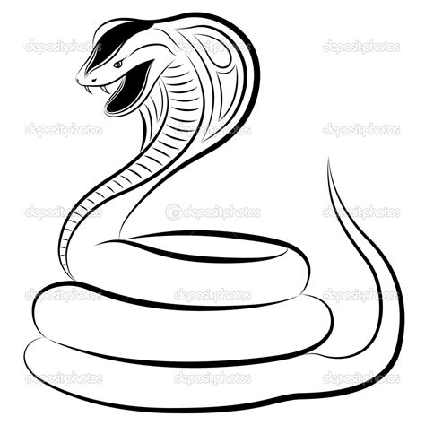coloring pages cobra snake how to draw a cobra coloring pages