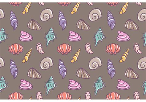 seamless pattern vector tutorial free pearl shell vector seamless pattern download free