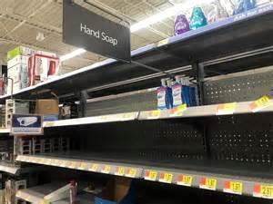 coronavirus panic shoppers leave colorado springs store shelves empty high prices