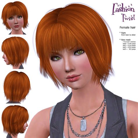 hair age 3 my sims 3 blog most viewed new hair for all age females