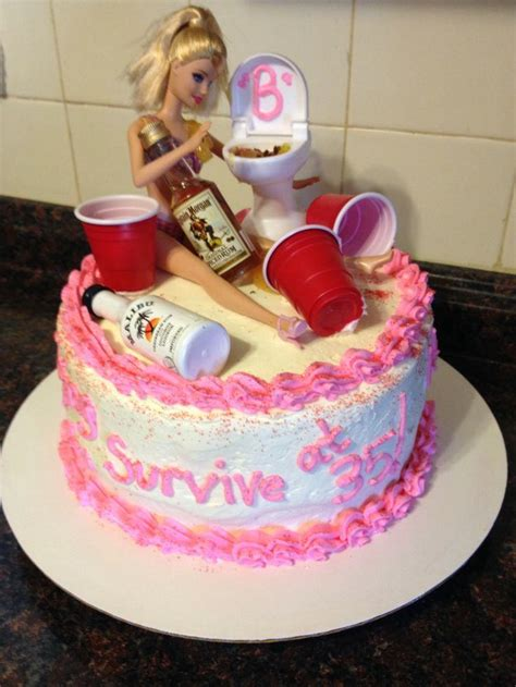 clever  funny birthday cakes pleated jeans
