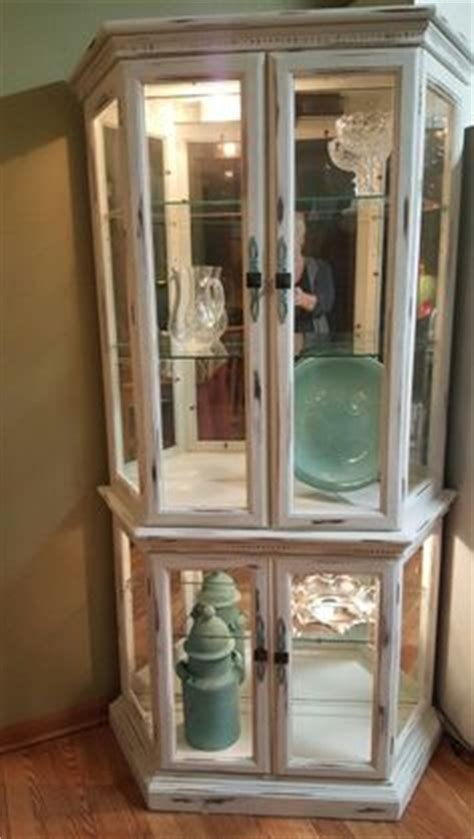 painting curio cabinet ideas 1000 ideas about painted curio cabinets on