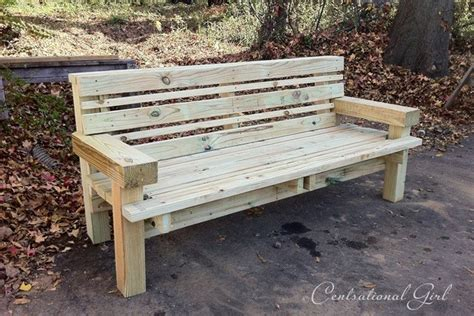 Build A Wood Bench Plans