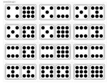 printable dot cards for subitizing quick image cards a variety of dot cards for subitizing