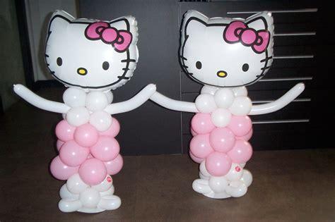 imagenes de hello kitty fiestas infantiles hello kitty de globos para fiestas infantiles nacimientos