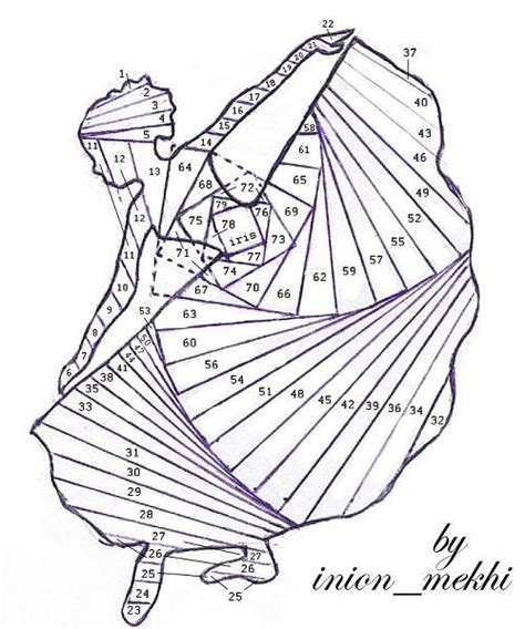 Folding Paper Patterns - 2992 best stained glass patterns images on
