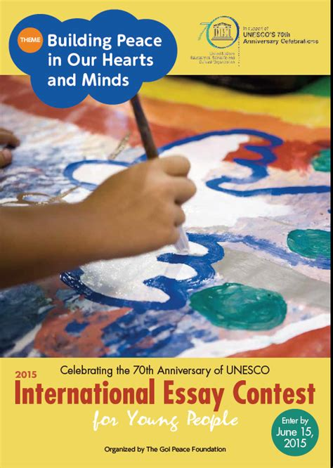 International Essay Contest Unesco by Plai Southern Tagalog Region Librarians Council International Essay Contest For