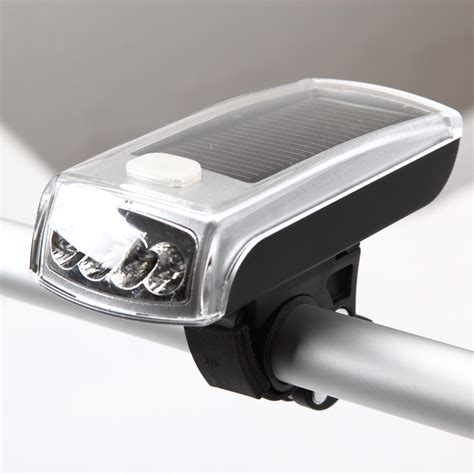 China Outdoors Bicycle Bike Cycling 4 Led Solar And Usb 2 Solar Bicycle Light
