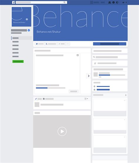 facebook layout free without downloading mockup for new facebook page layout download psd on behance