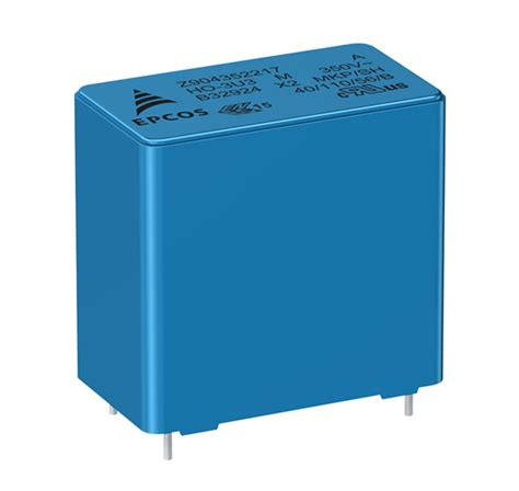x2 series capacitor robust industrial grade x2 capacitors with a voltage of 350 v ac 2017 01 11 signal