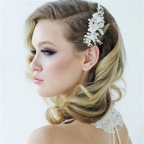 medium vintage haircuts best 25 medium wedding hair ideas on bridesmaid hair medium length medium length