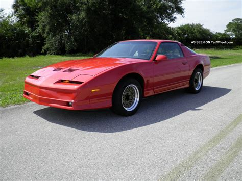 1986 pontiac firebird information and photos momentcar