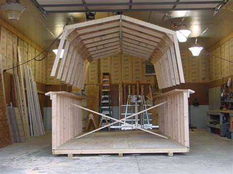 gambrel roof sheds plans google search dream buildings