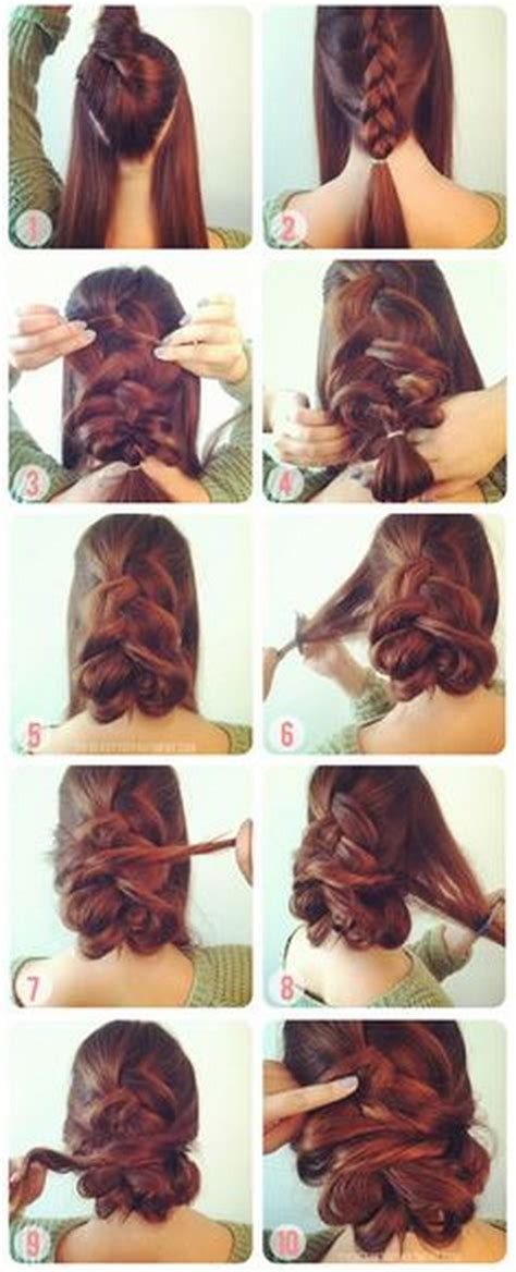 hairstyles easy to do on yourself easy do it yourself prom hairstyles
