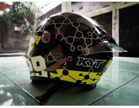 Helm Agv Biasa spoiler helm custom agv pista effect cxrider