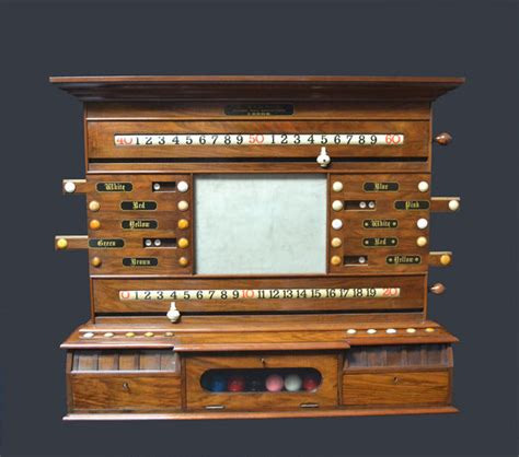 Billiard Cabinet by Antique Billiard Snooker Scorers And Cabinets For Sale