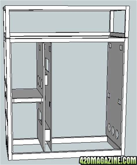 Grow Closet Plans by Multi Chamber Growbox