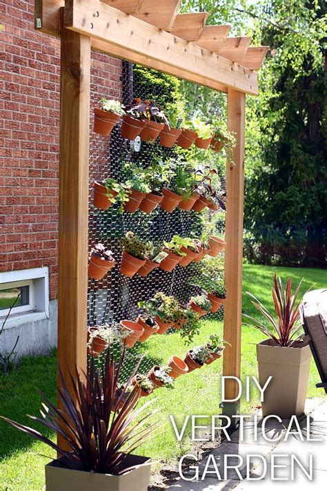 wall gardens diy how to build your own diy vertical garden wall