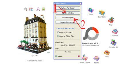 membuat kolase dengan photoscape cara membuat screenshot gambar dengan photoscape celah