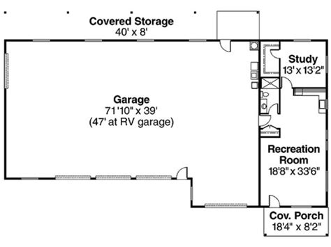 garage plans with apartment one level 3 car garage with and rv garage and one bedroom apartment